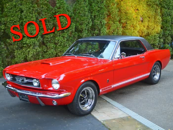 1966 Ford Mustang GT Coupe <font color=red>*SOLD*</font color>