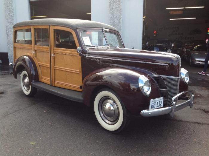 1940 Ford Woody Wagon
