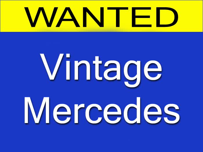 WANTED: Vintage Mercedes