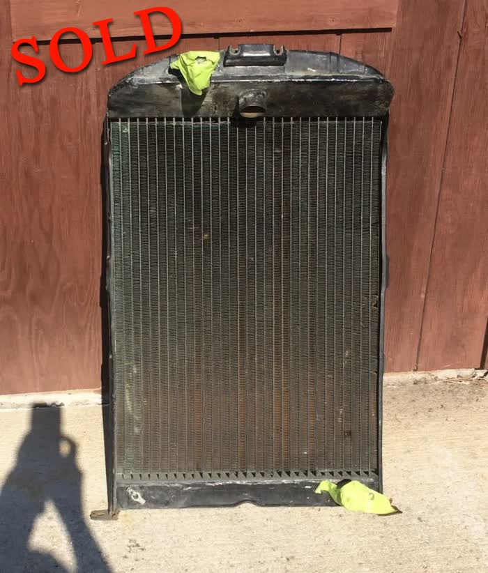Used Parts - 1934 Ford Radiator