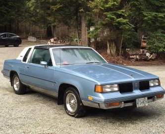 1987 Oldsmobile Cutlass Salon