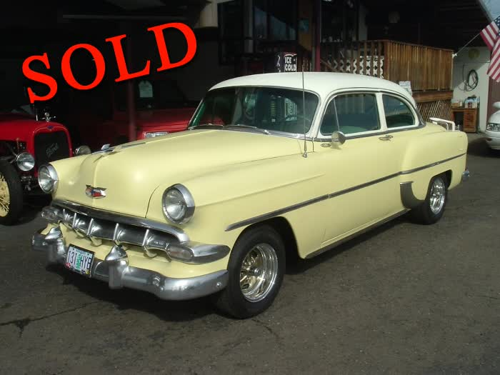 1954 Chevrolet Model 210 2 Door Sedan <font color=red>*SOLD*</font color>