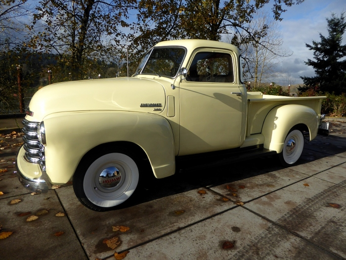 1950 Chevrolet 3100 5 Window Pickup