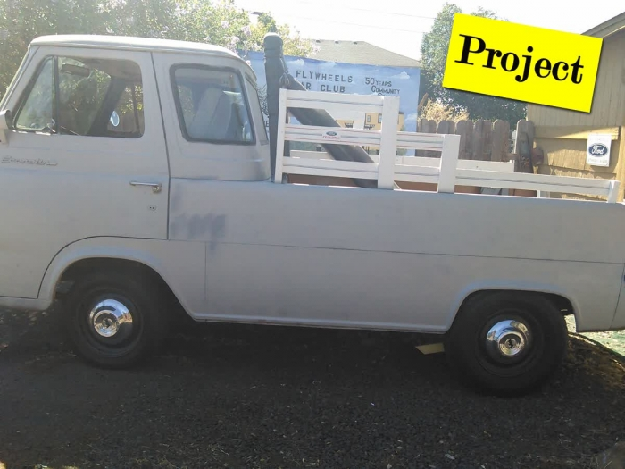 Classified Ads - Projects For Sale - 1967 Ford Econoline Pickup