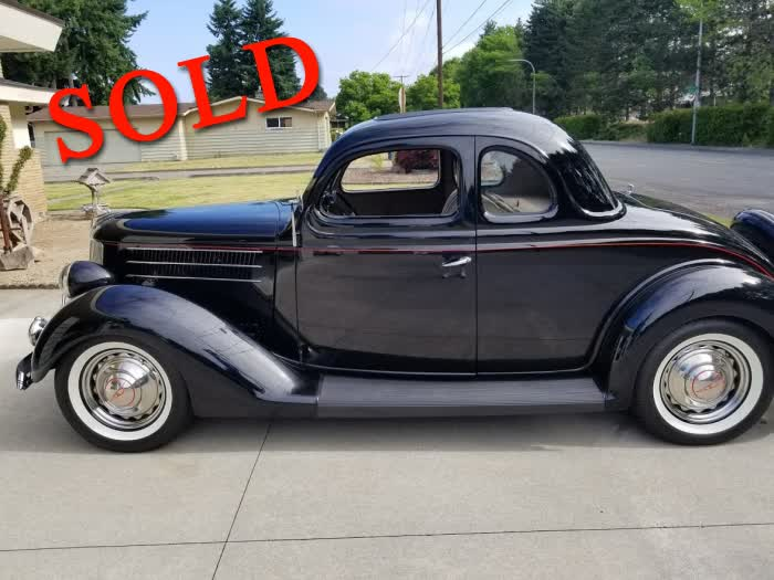 1936 Ford Coupe With Rumble Seat