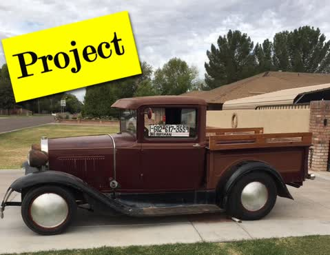 1931 Ford Model A Wide Bed Pickup