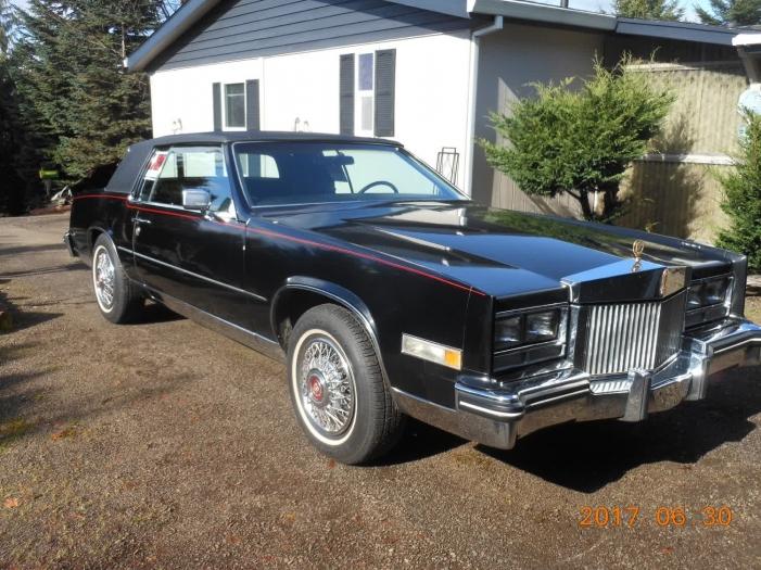 1985 Cadillac El Dorado Gold Edition