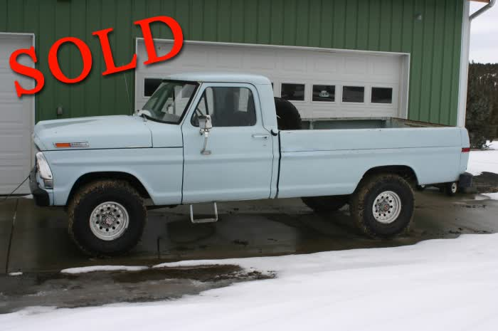 1972 Ford F100 4 x 4