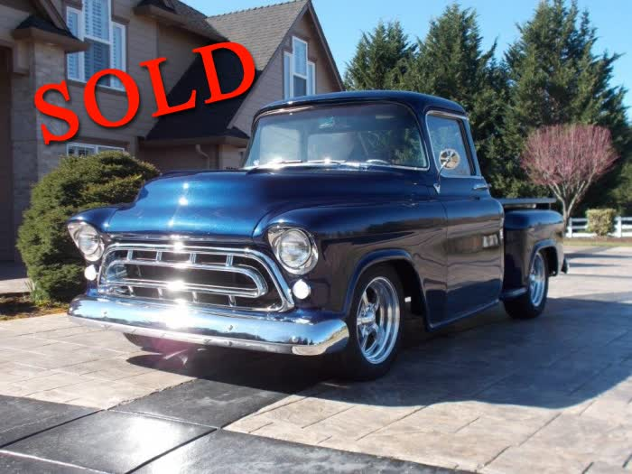 1957 Chevrolet 3100 PU Big Back Window <font color=red>*SOLD*</font color>
