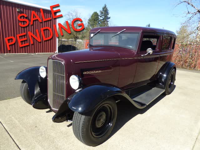 1930 Ford Model A Sedan Hot Rod