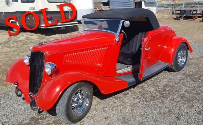 1934 Ford Roadster <font color=red>*SOLD*</font color>
