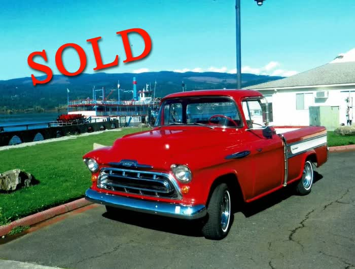 1957 Chevrolet Cameo Pick Up <font color=red>*SOLD*</font color>