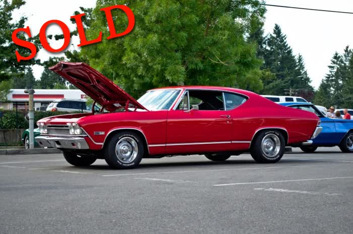 1968 Chevrolet Chevelle <font color=red>*SOLD*</font color>