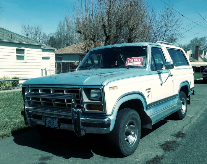 1983 Ford Bronco 4 X 4