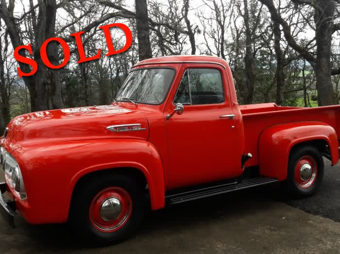1953 Ford F-100 50th Anniversary Model <font color=red>*SOLD*</font color>