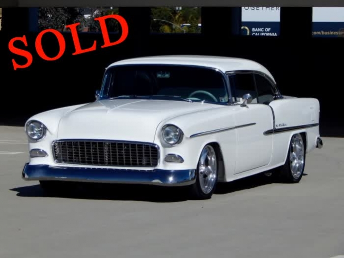 1955 Chevrolet Bel Air 150/210 Supercharged 454 Hardtop Restomod