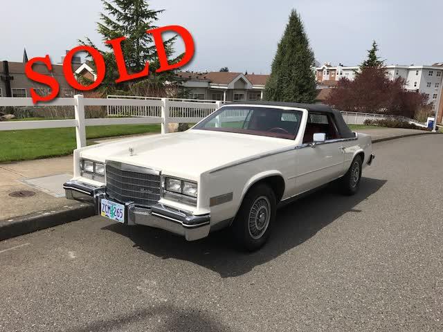 1984 Cadillac El Dorado Biarritz Convertible