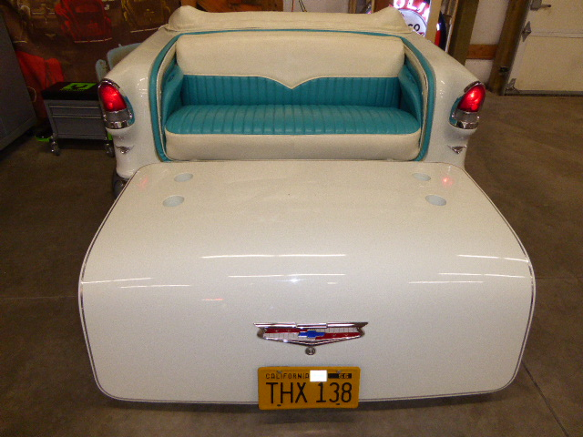 1955 Chevrolet Belair Sofa and Coffee Table