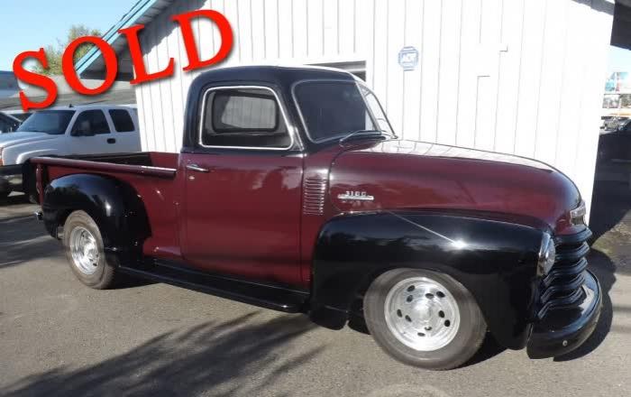 1953 Chevrolet Pickup <font color=red>*SOLD*</font color>