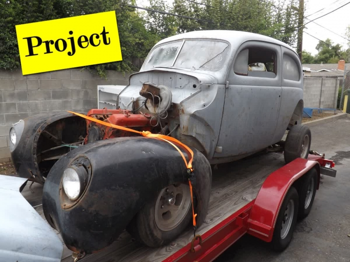 Classified Ads Projects For Sale Ford Door Sedan - Classic car projects