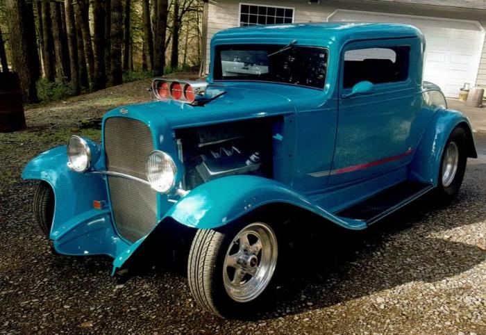 1932 Chevrolet 3 Window Coupe