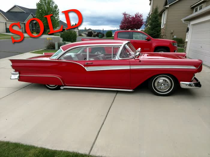 1957 Ford Fairlane 500 <font color=red>*SOLD*</font color>