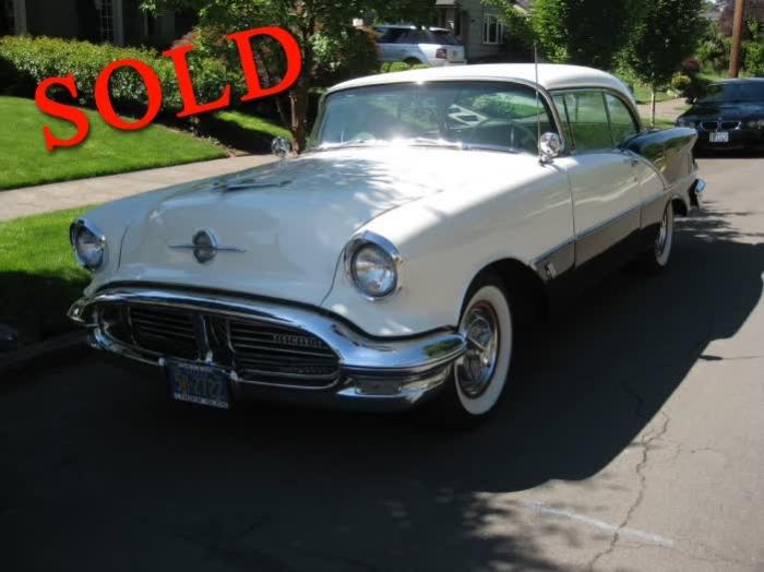1956 Oldsmobile Super 88 2 Door Hardtop