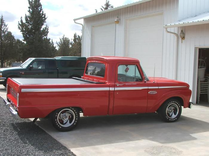 1966 Ford F100  Pickup Truck Short/Wide