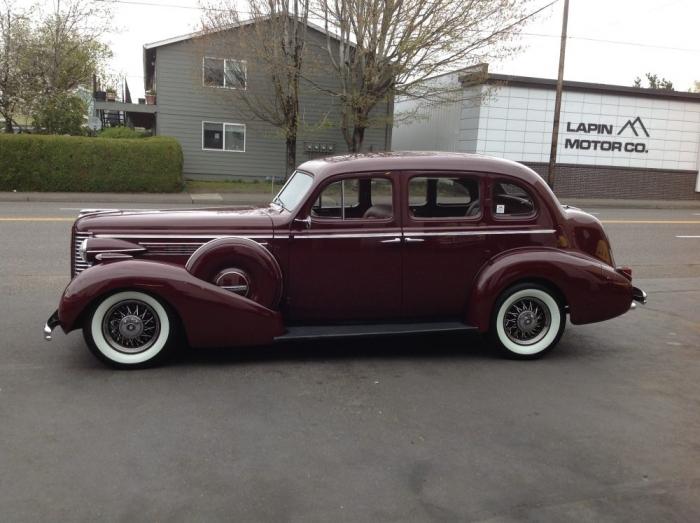 1938 Buick Special 4 Door Sedan