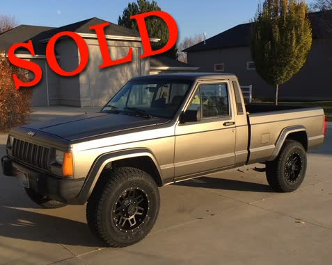1989 Jeep Comanche Eliminator Pickup