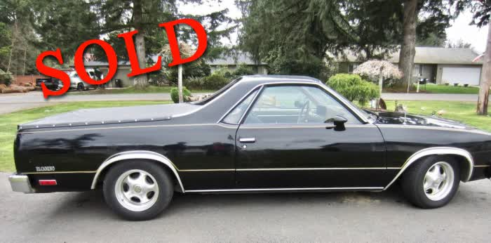 1979 Chevrolet El Camino <font color=red>*SOLD*</font color>