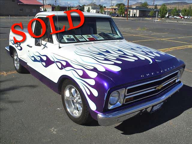 1967 Chevrolet C10 CUSTOM <font color=red>*SOLD*</font color>