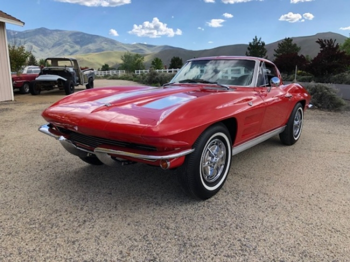 1963 Chevrolet Corvette Coupe Split Window  <font color=red>*HAN AUCTION VEHICLE*</font color>