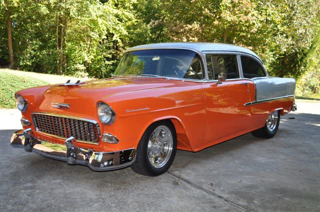1955 Chevrolet 210 - 2 Door Post