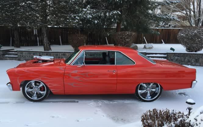 1966 Chevrolet Nova Pro Touring <font color=red>*HAN AUCTION VEHICLE*</font color>