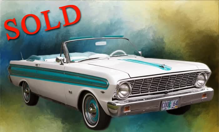 1964 Ford Futura Convertible Freshly Restored