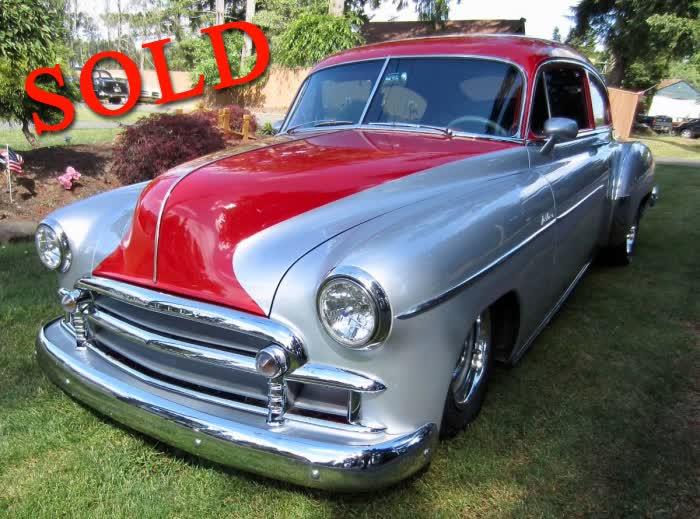 1950 Chevrolet Torpedo 2 Door Fastback