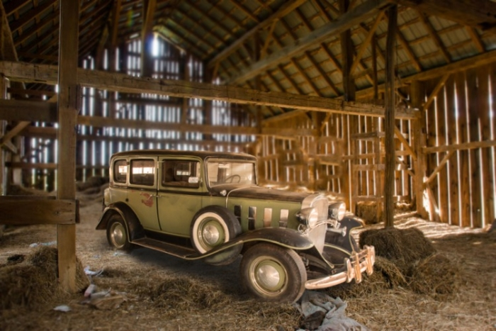1932 CHEVROLET SERIES BA CONFEDERATE BARN FIND <font color=red>*HAN AUCTION VEHICLE*</font color>