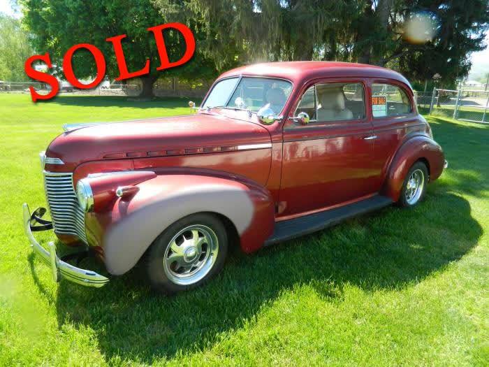 1940 Chevrolet  2 Door Sedan Master