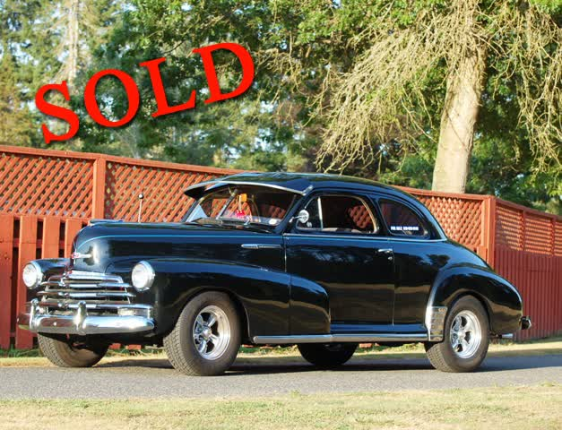 1947 Chevrolet 2 Door Stylemaster Coupe