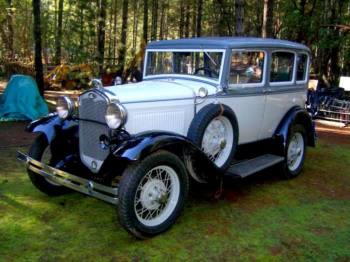 1931 Model A Slant Window Sedan