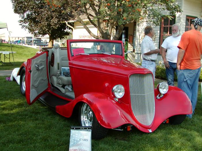 1934 Ford Cabriolet Custom