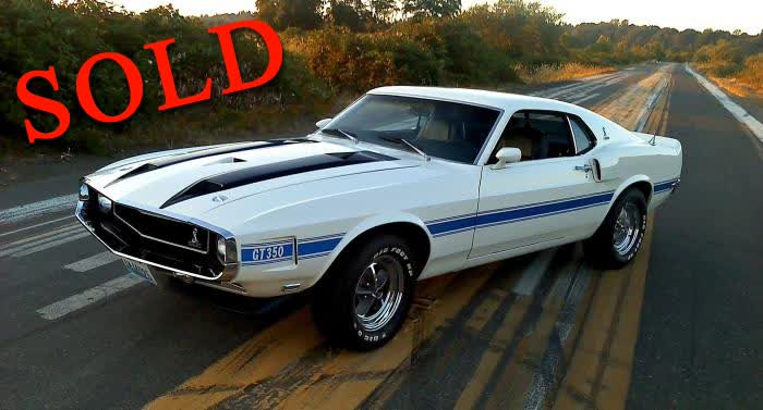 1970 Shelby GT350 One Owner Car