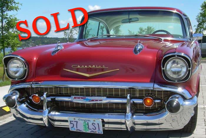 1957 Chevrolet Bel Air Coupe - Nice Car @ $43,500