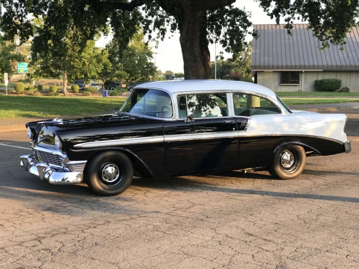 1956 Chevrolet Bel Air Post