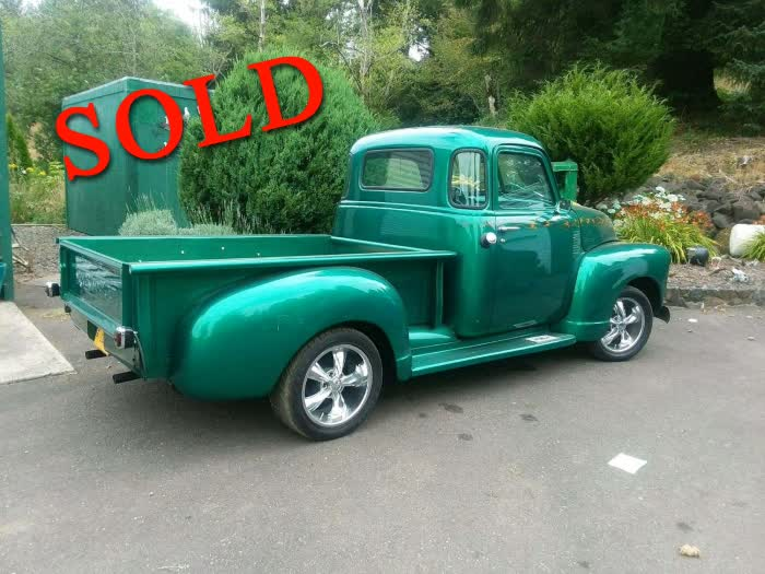 1950 Chevrolet 5 Window Pickup