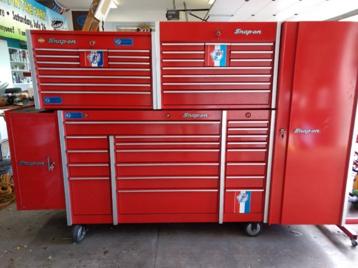 Snap On Cabinet, Chests and Lockers