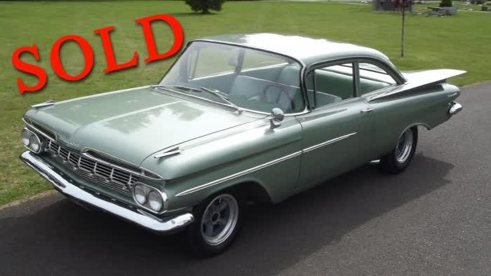 1959 Chevrolet Biscayne 85K OG Miles