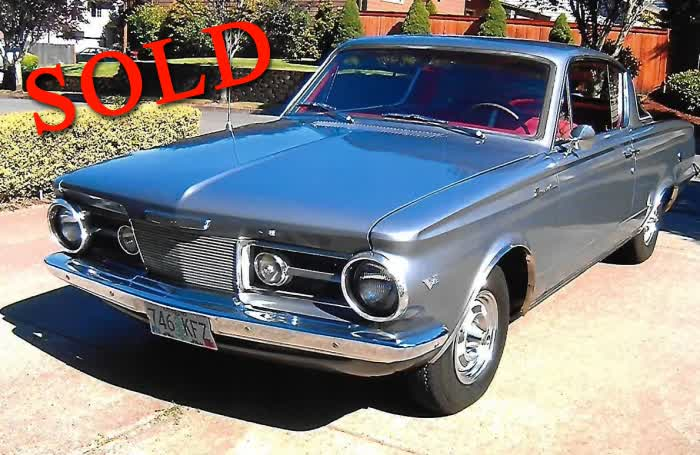 1964 Plymouth Barracuda <font color=red>*SOLD*</font color>