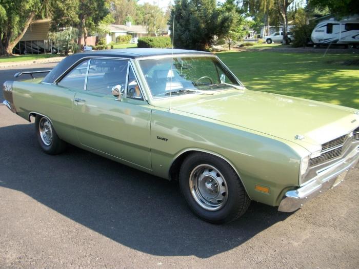 1969 Dodge Dart Only 33068 Built Rare